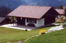 Chalet in spring